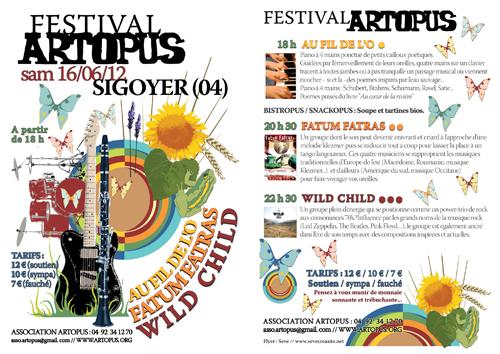 Flyer Festival 2012