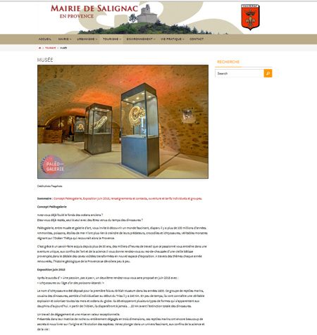 Mairie de Salignac (04), Provence