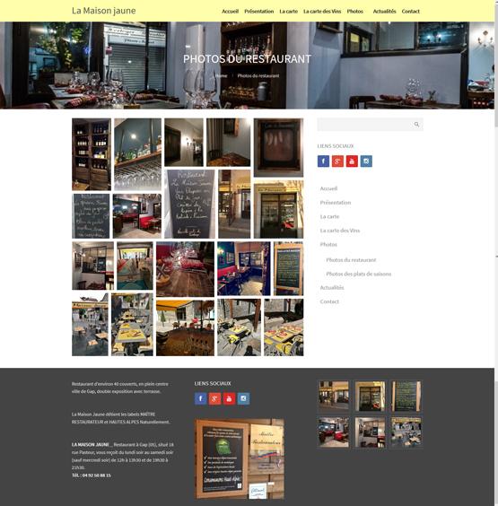 Restaurant La maison Jaune - Gap